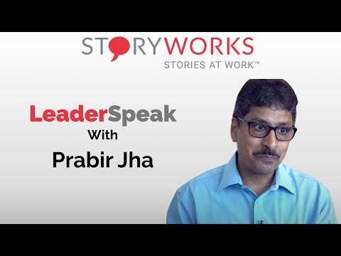 S01E06 Stories At Work Prabir Jha, President and Chief People Offer at Cipla with Indranil Chakrab