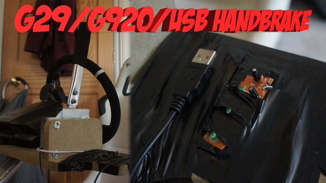 Logitech G920 Handbrake