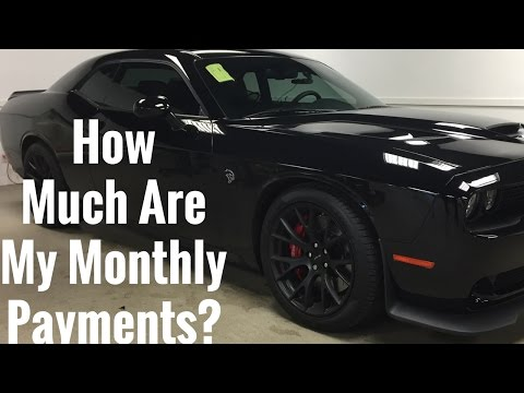 How Much Is My Car Payment For My Hellcat Every Month? How Much Do I Pay For Car Insurance Every Mon