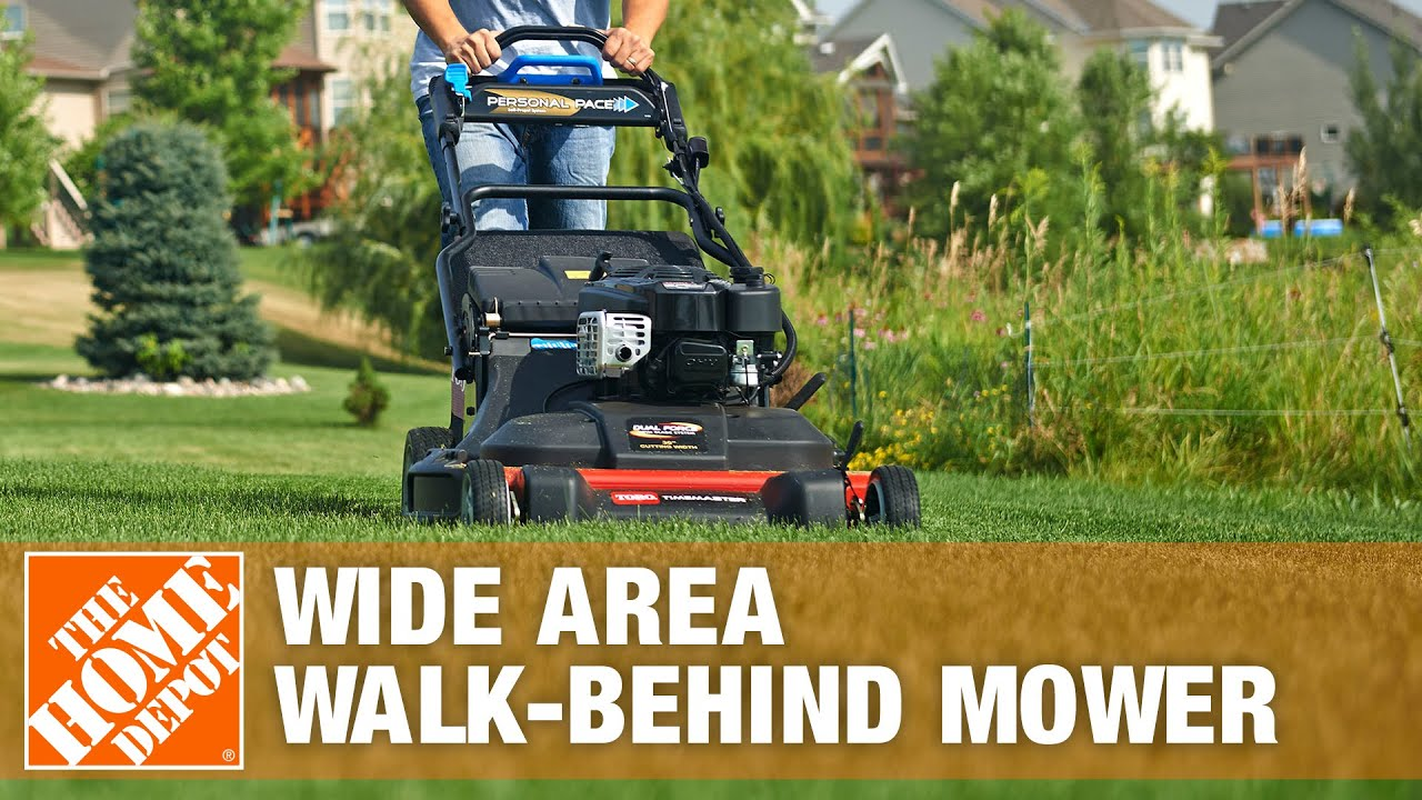 Toro 30 in TimeMaster Wide Area Walk Behind Mower The Home Depot