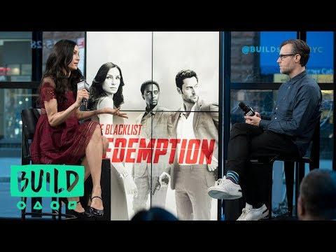 """Famke Janssen Discusses Her Series, """"The Blacklist: Redemption"""""""