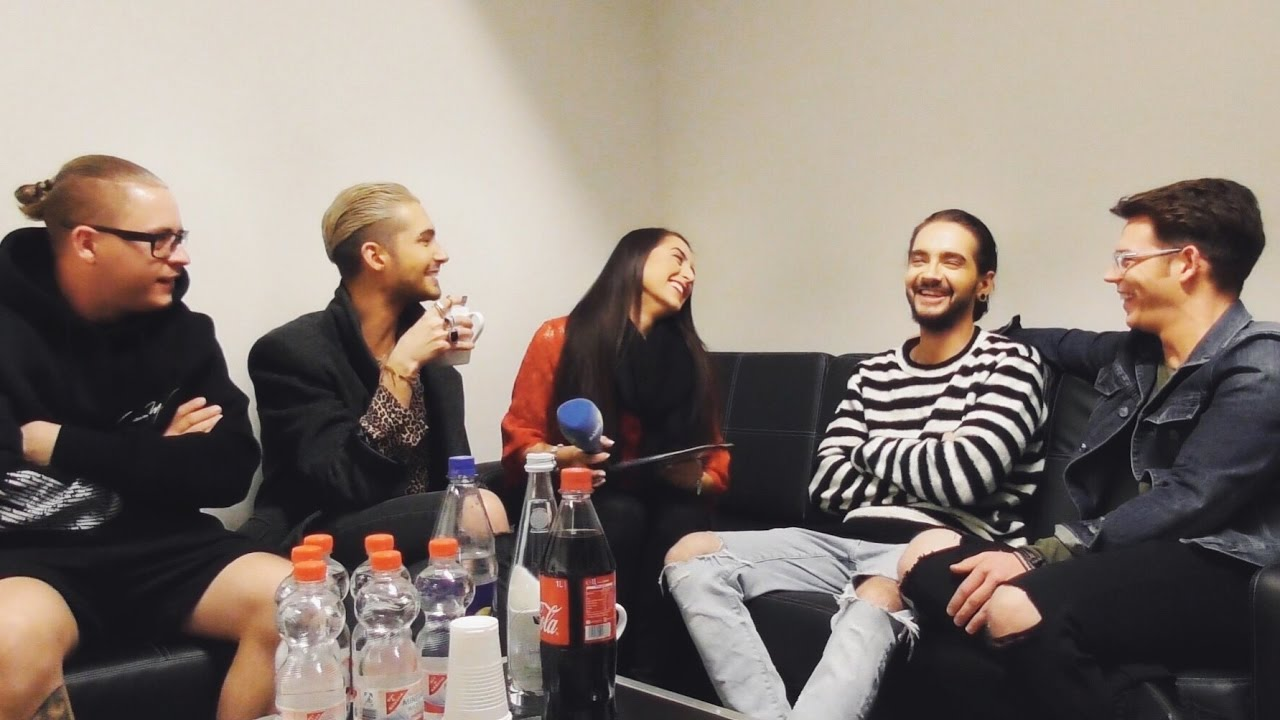 ENGLISH SUBTITLES TOKIO HOTEL Backstage 2017 - VERY FUNNY Interview Part 1