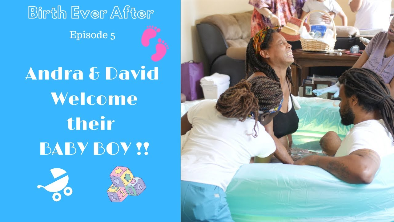 S1: Episode 5: Home Birth Galore!! Andra and David welcome their new baby boy!