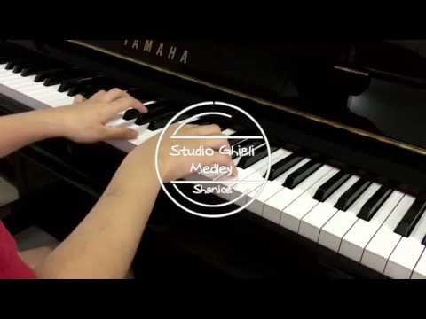 Studio Ghibli Medley Piano Collection スタジオジブリの歌・ピアノ ( By Shanice Teo )