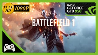 Battlefield 1 Gameplay Teste GTX 950 1080p #74