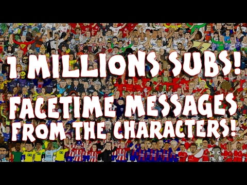📱FACETIME MESSAGES FROM THE CHARACTERS📱🔥1 Millions Subscriber Special!🔥