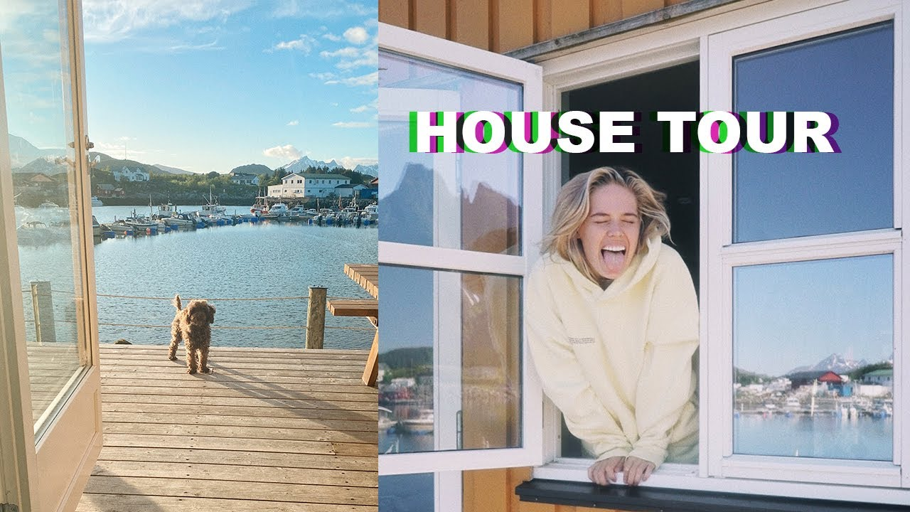 HOUSE TOUR - Lofoten Islands, Norway