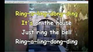 Ring the bell - Dj Otzi (by Tituccio) Karaoke whit words Ascoli Satriano