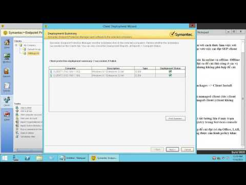 Part 3 - Deploy Symantec Endpoint Protection Client