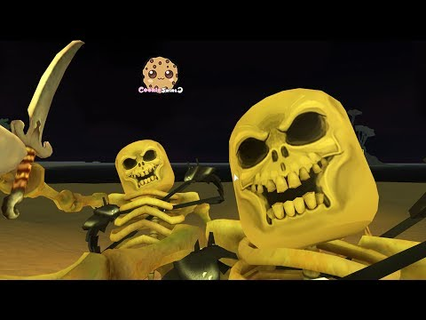 Skeleton Pirates ! Let's Play Roblox Games with Cookie Swirl C