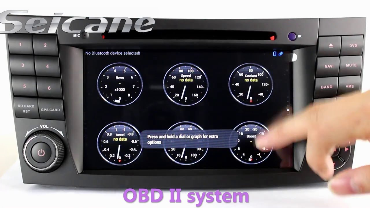 2002 2008 mercedes e class w211 radio removal upgrade for for Mercedes benz stereo