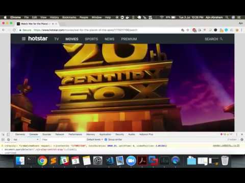 Bypassing Hotstar Premium with DOM manipulation and some JavaScript