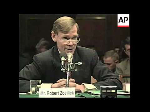 USA: US TRADE REPRESENTATIVE NOMINEE ZOELLICK