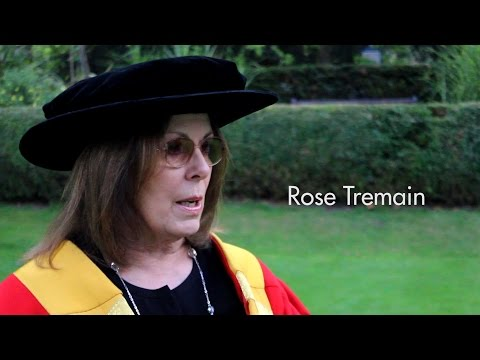 UEA Grad Week 2014 | Interview with Chancellor Rose Tremain