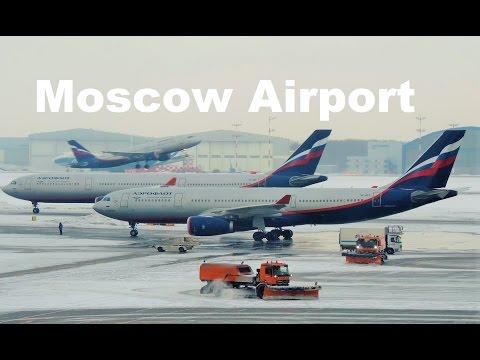 Moscow Sheremetyevo airport Plane Spotting 2017