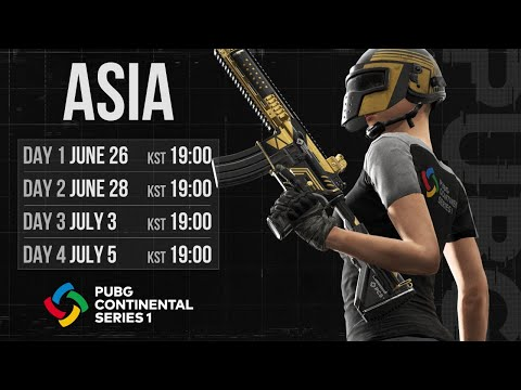 PUBG Continental Series 1: ASIA Day 4