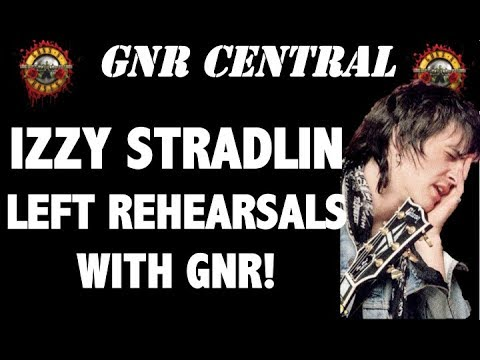 Guns N' Roses News  Izzy Stradlin Almost Joined GNR On Stage!