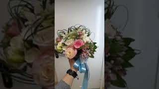 Свадебный букет невесты магазин цветов Флора п.Уваровка привокзальная пл 10