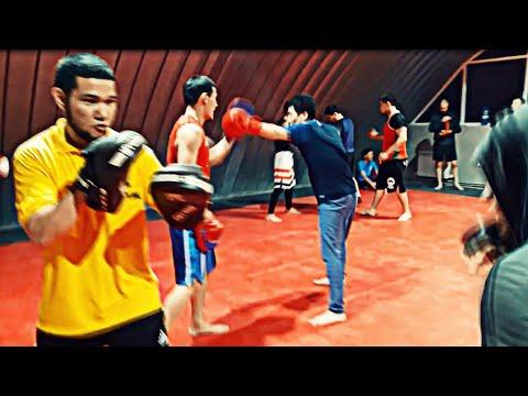 в гостях у Талгата, Lions Fight Club, секция бокса, спарринг, Актау