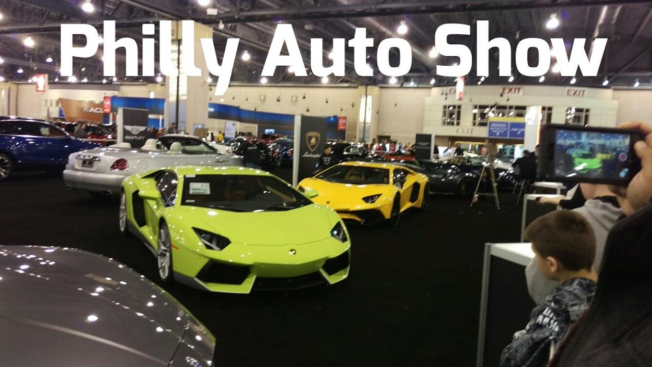 Philadelphia Auto Show YouTube - Philly car show