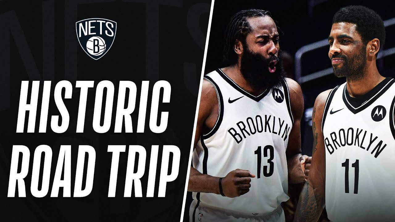 Brooklyn Nets Make HISTORY With A Perfect 5-0 Road Trip Against Western Conference Opponents!