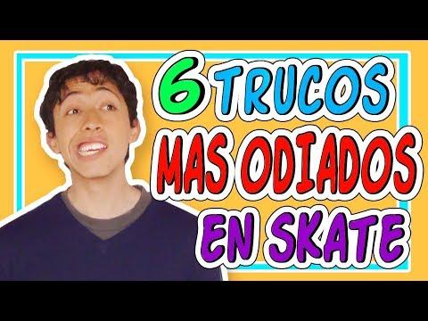 6 TRUCOS DE SKATE MAS ODIADOS POR LOS SKATERS| trucos que NO GUSTAN en game of skate | R2ARTUR