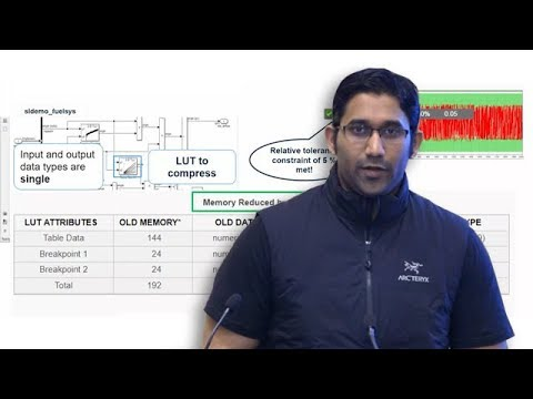 Optimizing Lookup Tables in Simulink and Embedded Coder - Coder Summit 2018