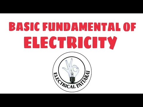 basic fundamentals of electricity(english+tamil)