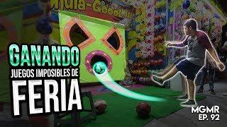 GANANDO Juegos IMPOSIBLES de FERIA - MiniGames en el Mundo Real EP. 92