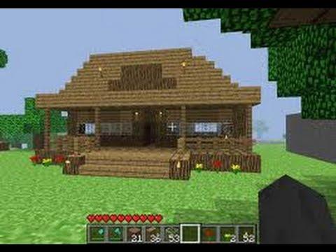 Como decorar una casa estilo retro en minecraft parte 1 - Decorar casa estilo vintage ...