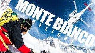 HELISKI FREERIDE sul MONTE BIANCO!!! Snowboard al Click on the Mountain! (ep.2/2)