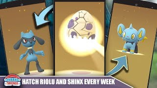 HOW TO HATCH RIOLU SHINX amp; OTHER RARES EVERY WEEK SECRET STRATEGY FOR HATCHING RARES  POKEMON GO