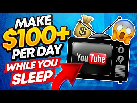 Earn Money While You Sleep 2020! ($100+ Per Day WORLDWIDE!) Make Money Online 2020!