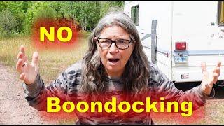 RV Living Boondocking W๐es in North Dakota