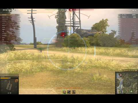 WorldOfTanks soviet T-70 9kills (3tier) : 월오탱 소련3티어 t70 경전차 플레이 영상