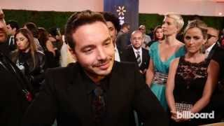 J Balvin on the Latin GRAMMY Awards Red Carpet 2014
