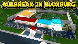 Jailbreak In Bloxburg!  Roblox Bloxburg