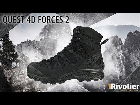 Salomon Quest 4D Forces 2 shoe