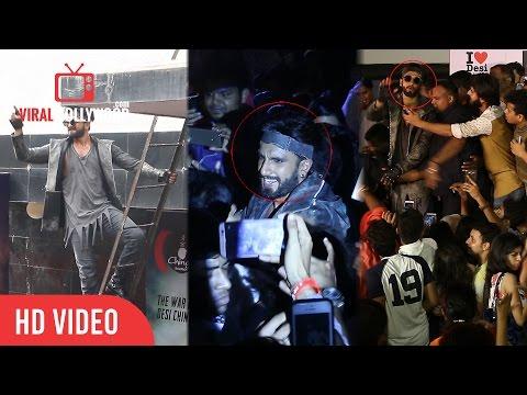 Ranveer Singh Gone Crazy in Public