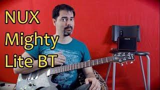 Портативная гитарная колонка усилитель NUX Mighty Lite BT (Обзор)