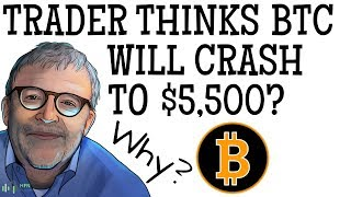 BITCOIN (BTC) - TRADER THINKS BTC WILL CRASH TO $5,500 | WHY?