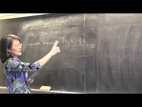 CMPSC/Math 451. March 18, 2015. Condition number. Jacobi iterations. Wen Shen