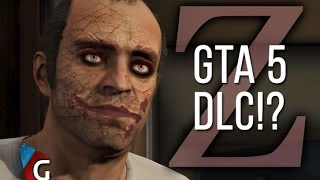 GTA 5 Leaked Single Player Selection Screen & Zombie DLC?