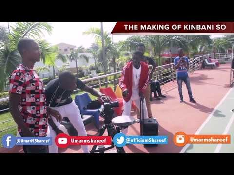 Umar M Shareef KIN BANISO  Behind The Scenes (official Video)