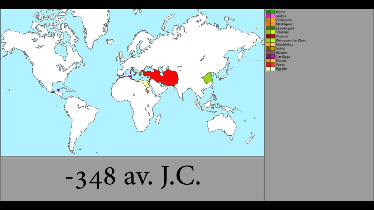 History of the world 700 bc 1 ad youtube history of the world 700 bc 1 ad historical map animator gumiabroncs Images