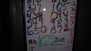Easy / Basic 3 digit Lottery Workout that produces hits!! Video