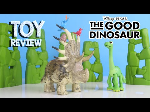 the good dinosaur forrest woodbush toy review youtube