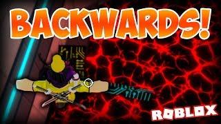 COMPLETING DARK SCI FACILITY BACKWARDS!!! | Flood Escape 2 on Roblox #68