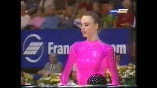 Ekaterina SEREBRIANSKAYA (UKR) ball - 1996 Europeans Asker EF