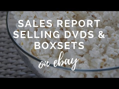 eBay Sales Report - UK eBay Reseller - Selling DVDs & Media on eBay